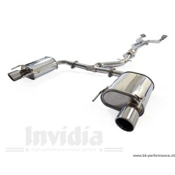 Cat-back exhaust Q300tl-S