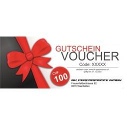 Gutschein CHF 100